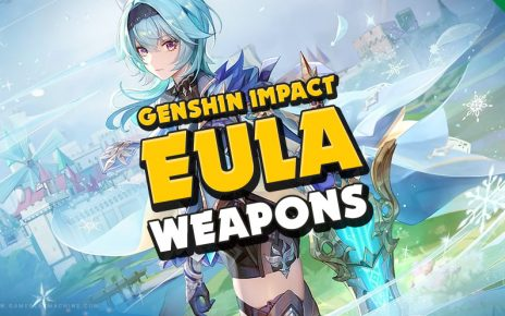 Genshin Impact Best weapon for Eula, what is the EULA best Claymore 4-star and 5-star weapon ranking, Weapon tier list for Eula