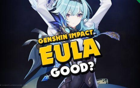 Why Eula Is Worth Pulling Genshin Impact, EULA good?