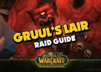 Wow TBC Burning Crusade bosses gruul's lair raid RAID BOSS GRUUL drop items loot guide, tutorial, how to kill gruul