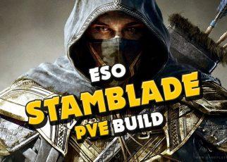 ESO Bow/Bow Stamina Solo Nightblade Build guide Blackwood, NB build guide, Stamblade, Bowblade build, best race for solo pve build nb nightblade