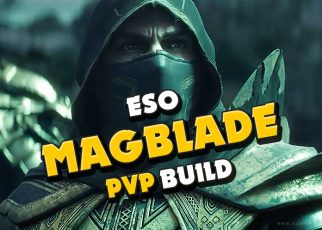 Elder Scrolls Online Build guide magicka nightblade, magblade pvp