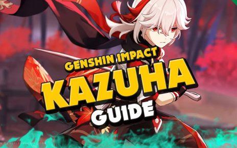 Complete FULL Kazuha guide Genshin Impact, What is the best team for Kazuha, Best 4-star 5-star weapon for Kazuha, weapons, Artifact sets, artifacts